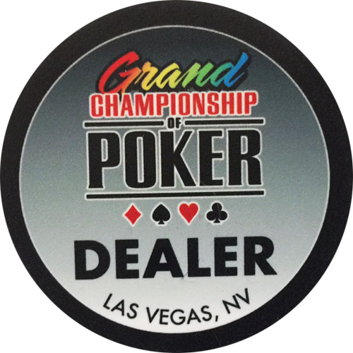 Grand Championship of Poker Dealer Button