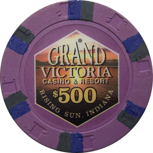 Grand Victoria Primary Paulson Poker Chips