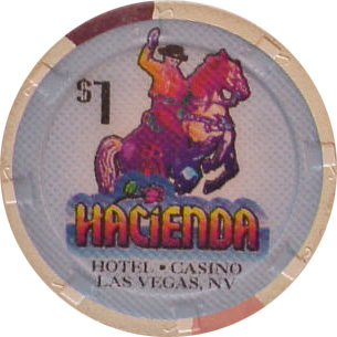 Hacienda 1995 $1 Las Vegas Casino Chip