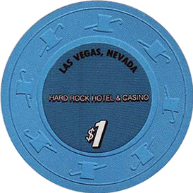 Hard Rock $1 Las Vegas Casino Chip