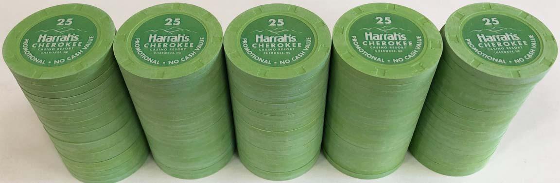 Harrah's Cherokee Casino Chips