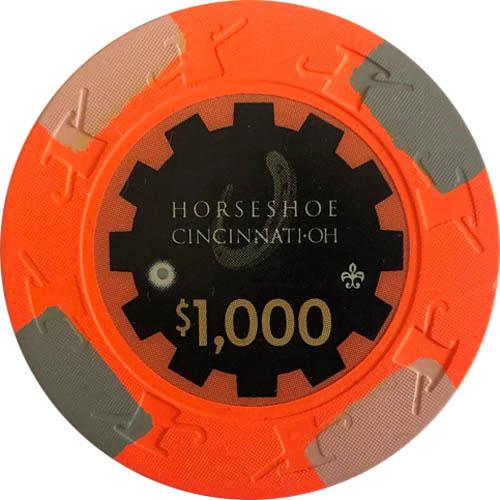 $1000 Horseshoe Cincinnati Casino Chip