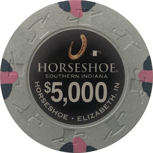 $5000 Horseshoe Casino Indiana Chip