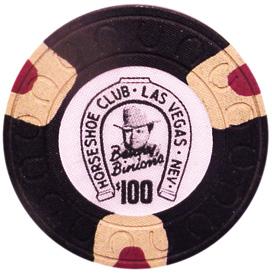 Horseshoe Casino Las Vegas $100 Chip