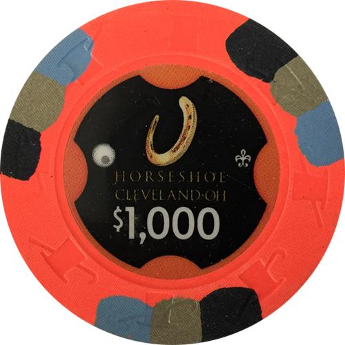 Horseshoe Casino Paulson Poker Chips