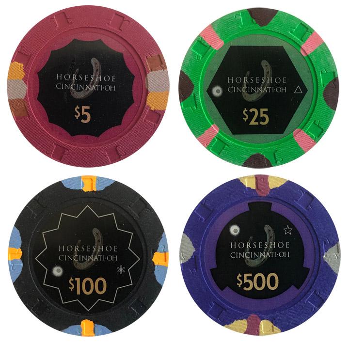 Horseshoe Paulson Secondary Casino Chips