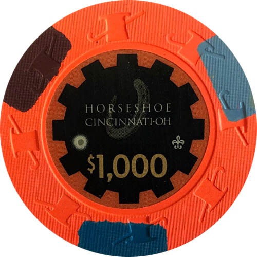 $1000 Horseshoe Cincinnati Secondary Casino Chip