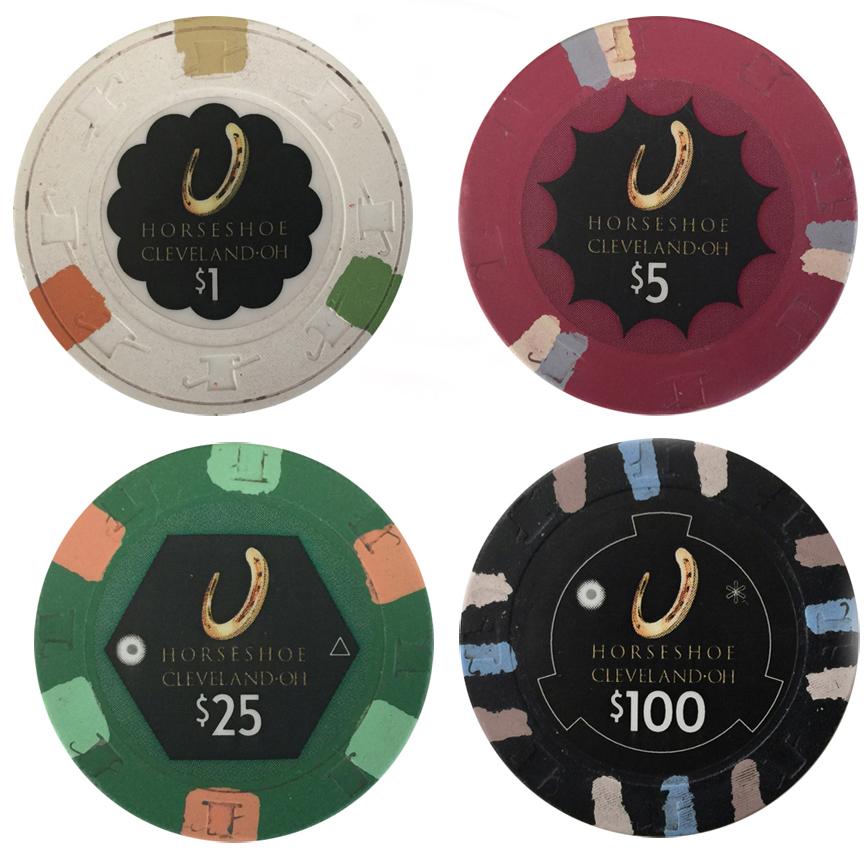Horseshoe Cleveland Paulson Poker Chips