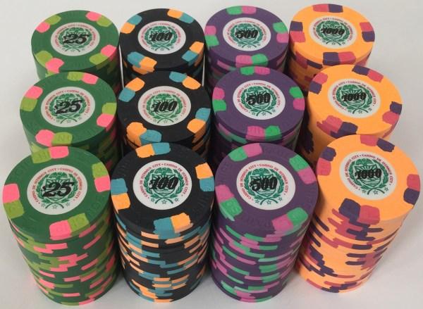 James Bond Paulson Poker Chips