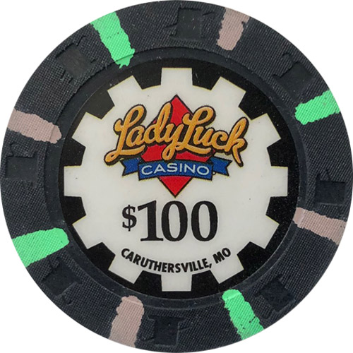 Lady Luck Casino $100 Chip