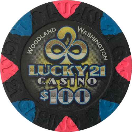 Lucky 21 Casino Paulson Poker Chips