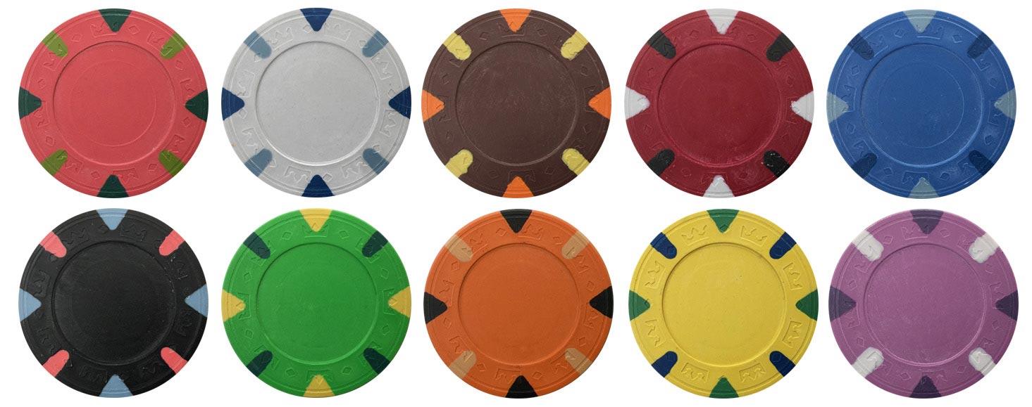 Custom Majestic Poker Chips