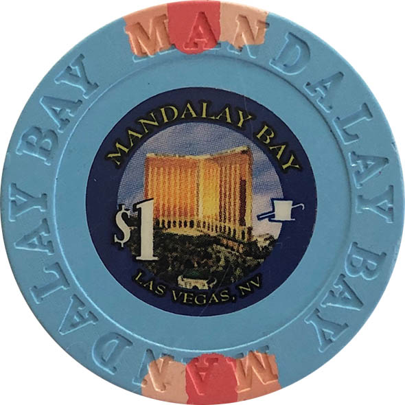 Mandalay Bay $1 Casino Chip
