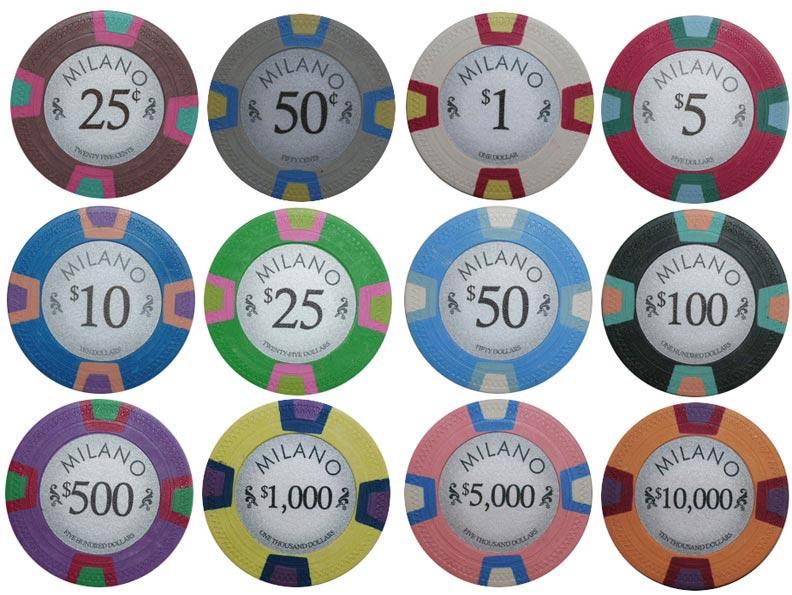Poker Chip Sets Sample Sets Starting At 4 99 Only