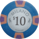 Milano Poker Chips - $10 Milanos chips