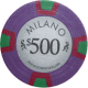 Milano Poker Chips - $500 Milanos chips