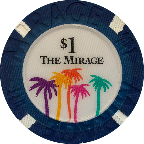 Mirage Las Vegas $1 Casino Chip