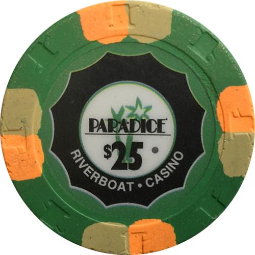 Par A Dice Paulson Poker Chips