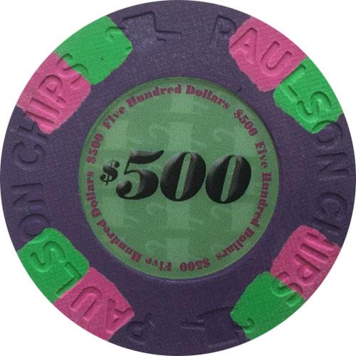 Paulson Classic Poker Chips