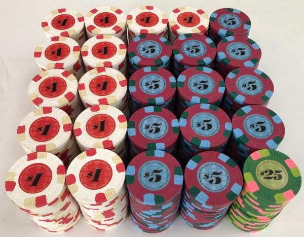 Classic Paulson Poker Chips