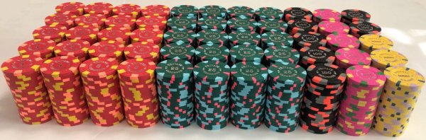 Paulson Private Cardroom Poker Chip Set
