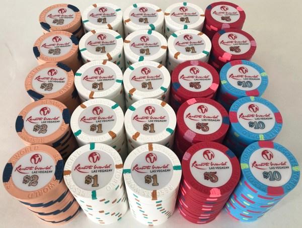 Resorts World Casino Las Vegas Poker Chip Set