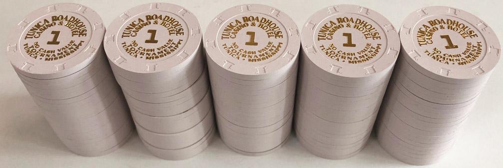 Roadhouse Casino $1 Paulson Poker Chips