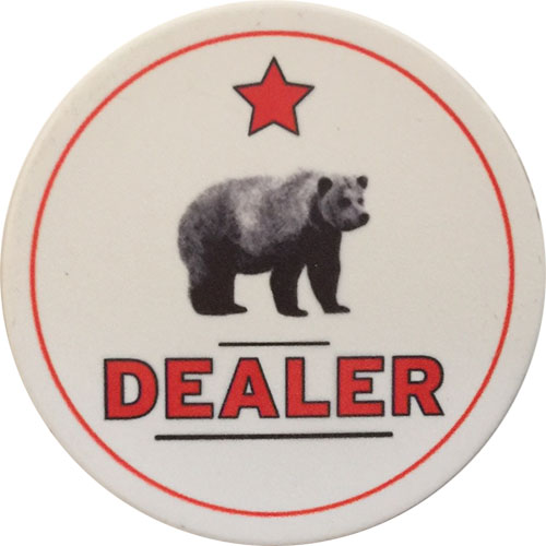 Rounders Casino Poker Dealer Button
