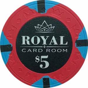 Royal Poker Chip