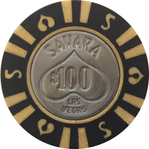 Sahara $100 Las Vegas Casino Chip