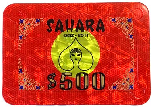Sahara Casino Poker Plaque