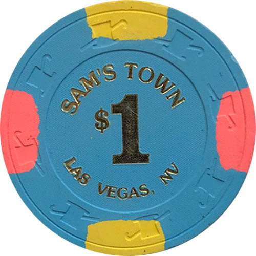 Sam's Town $1 Las Vegas Casino Chip