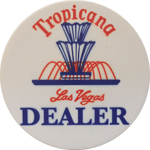 Tropicana Las Vegas Casino Dealer Button