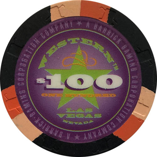 Western Casino Las Vegas Paulson Poker Chip Set