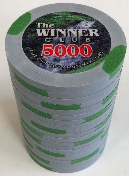 Winner Club Paulson Poker Chips
