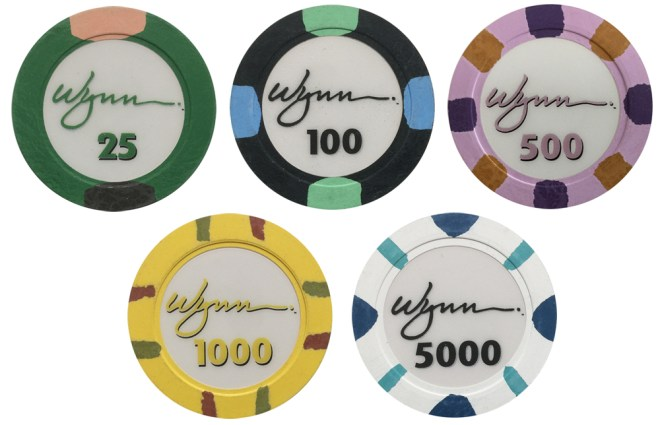 Wynn Casino Poker Chip Set
