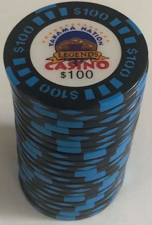 $100 Yakama Legends Casino Chips