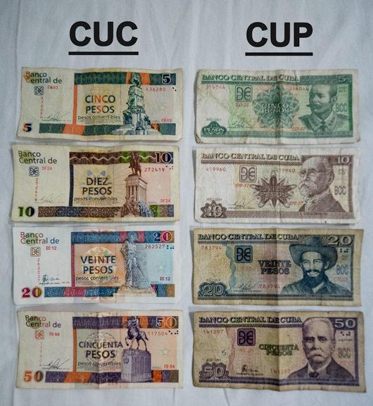 cuban currencies