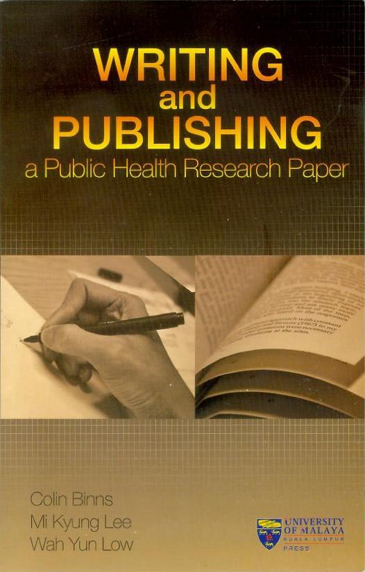 writing publishing public health research paper Writing and publishing science research papers corporate crime and public health get writing and publishing science research papers in english a global.