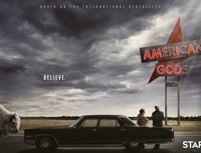 REVIEW TV SERIES : AMERICAN GODS