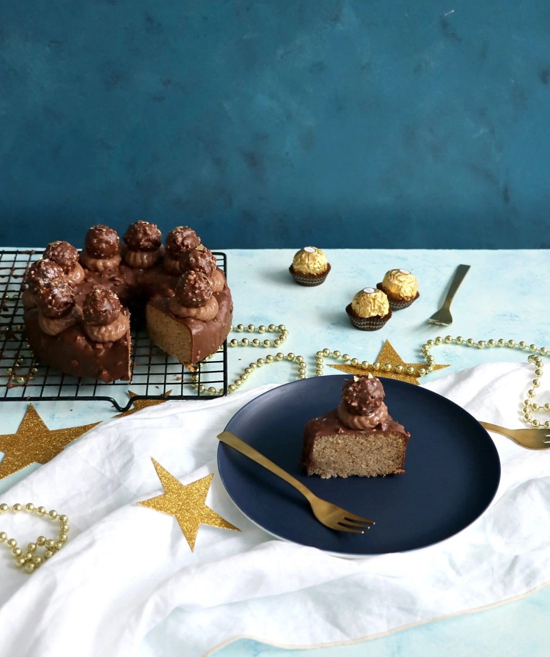 Ferrero Rocher Celebration Cake