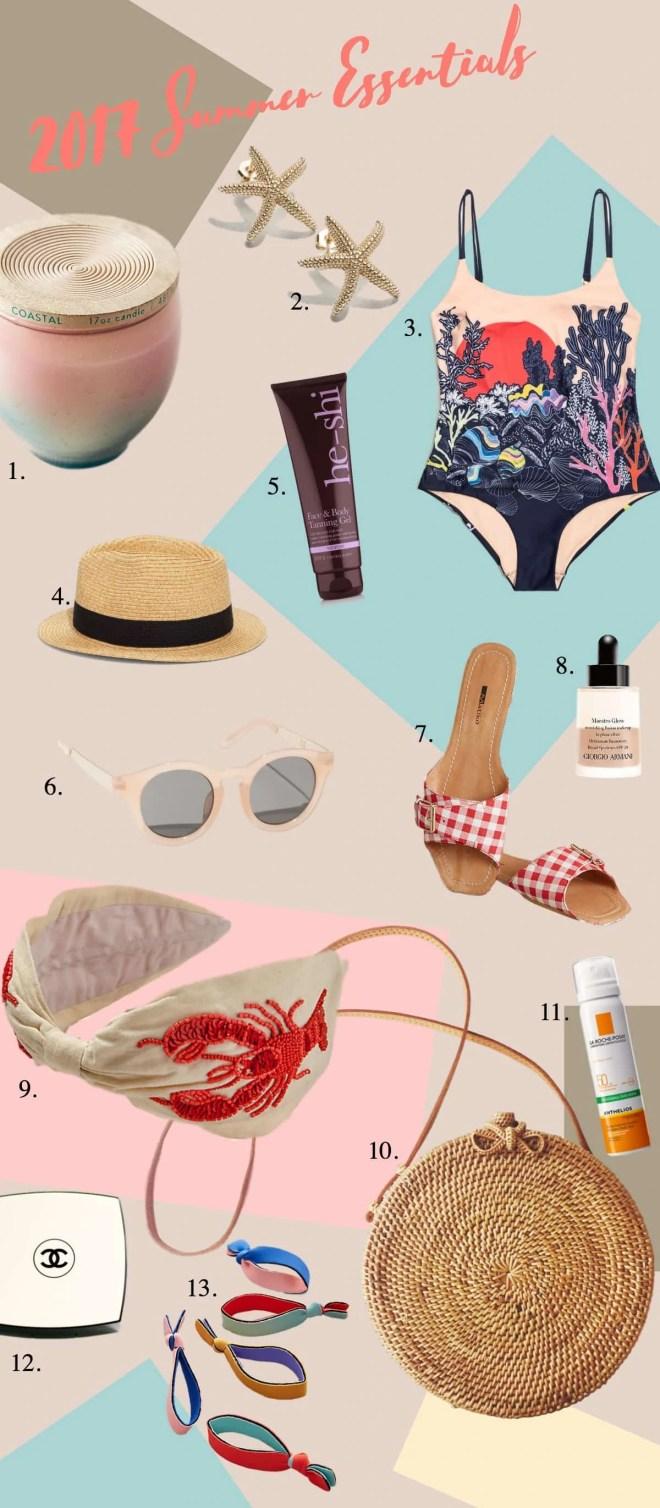 2017 Summer Essentials