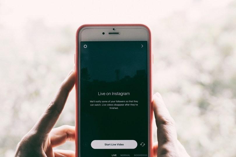 instagram live - apartment marketing 2018