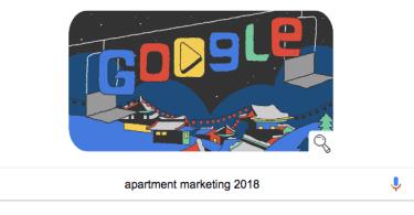 apartment marketing 2018