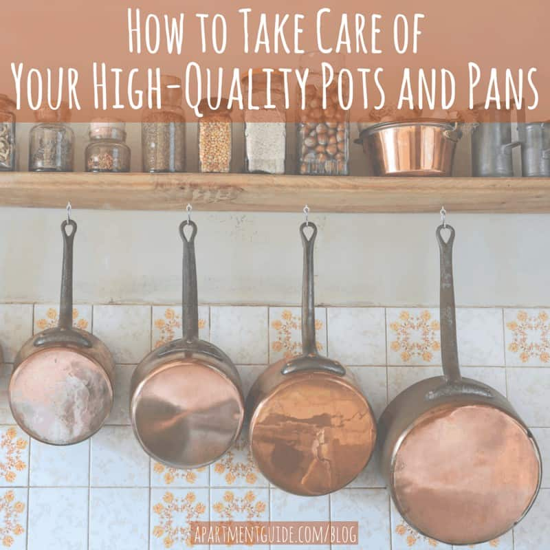 kitchen pans remodel los angeles taking care of quality pots and apartmentguide blog how to take your high