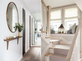 AFFORDABLE HALLWAY AND STAIRCASE DECORATING IDEAS ...
