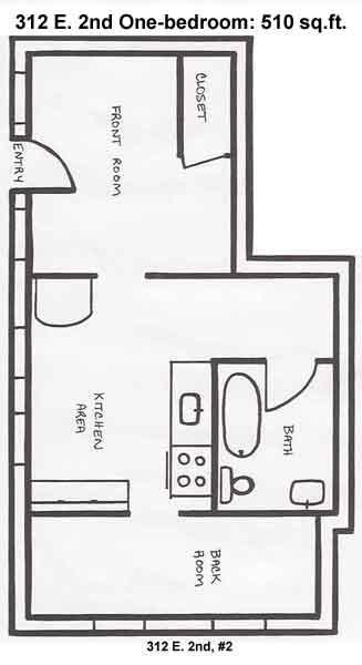 Apartment Rentals: 312 E. Second Apartments; Moscow, ID