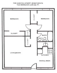 conan patenaude: Floor Plan 2 bedroom house