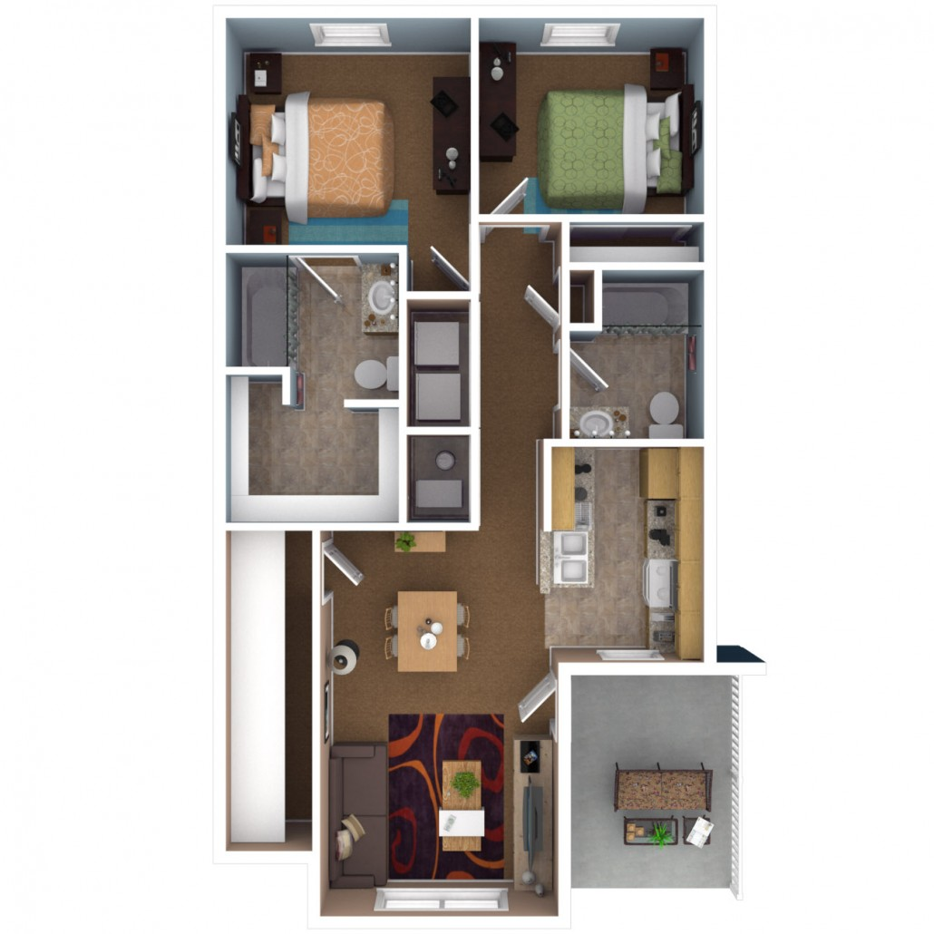 Apartments In Indianapolis  Floor Plans