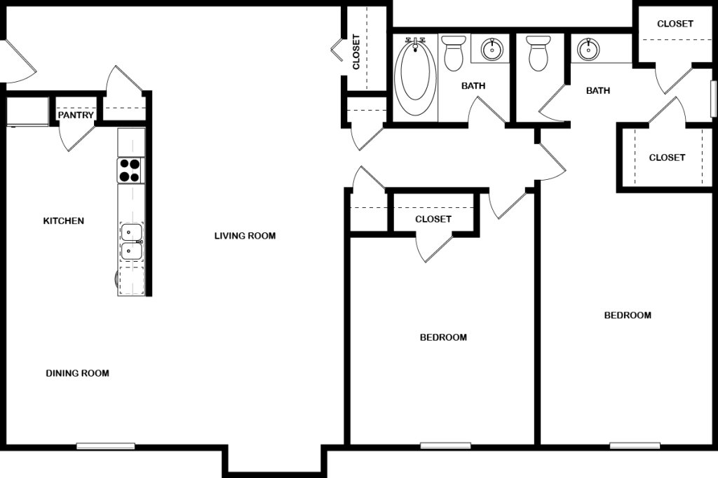 Classic floor plan design